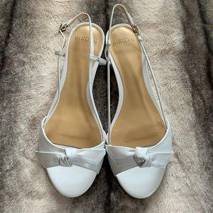 { Alexandre Birman } Clarita Slingback Bow Sandal